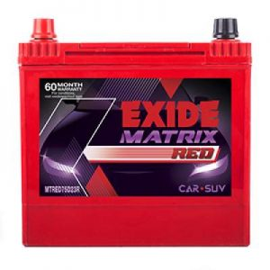 Exide Matrix Red MTRED75D23R 68Ah Car Battery