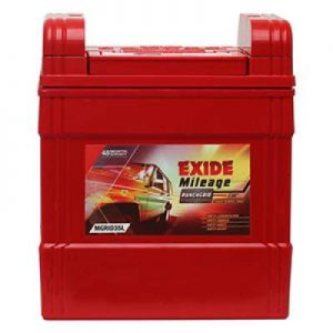 Exide Mileage Grid MGRID35L 35Ah Car Battery