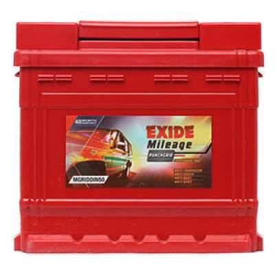 Exide Mileage Grid MGRIDDIN50 50Ah Car Battery