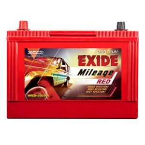 Exide Mileage Red MRED105D31R 85Ah Car Battery