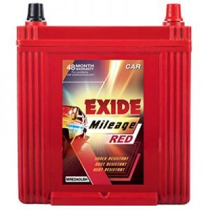 Exide Mileage Red MRED40LBH 35Ah Car Battery