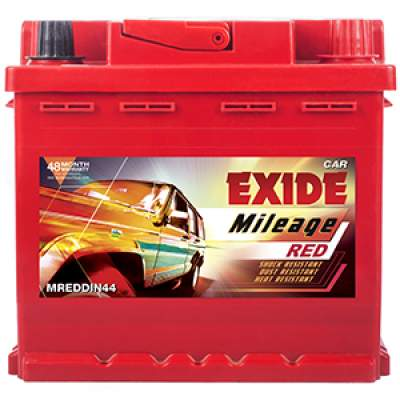 Exide Mileage Red MREDDIN44LH 44ah Car Battery