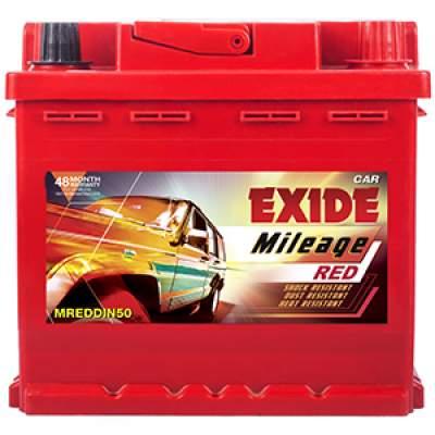 Exide Mileage Red MREDDIN50 50ah Car Battery