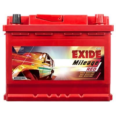 Exide Mileage Red MREDDIN60 60ah Car Battery