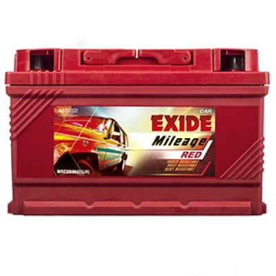 Exide Mileage Red MREDDIN65LH 65Ah Car Battery