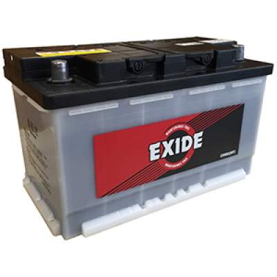 Exide DIN80 Car Battery