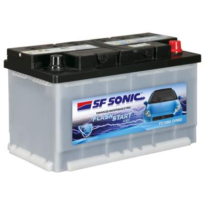 SF Sonic Flash Start 80AH FS1080-DIN80 Car Battery