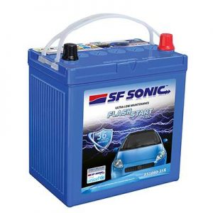 SF Sonic Flash Start 35Ah FS1080-35L Car Battery
