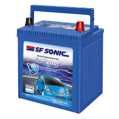SF Sonic Flash Start 35Ah FS1800-35L Car Battery