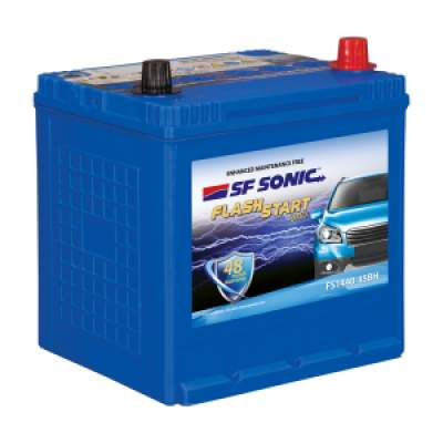 SF Sonic Flash Start 45Ah FS1440-45BH Car Battery