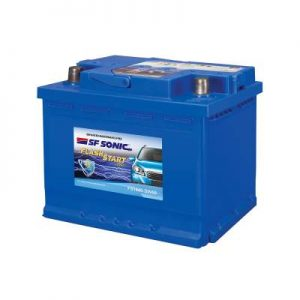 SF Sonic Flash Start 50Ah FS1440-DIN50 Car Battery