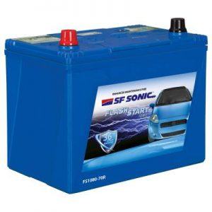 SF Sonic Flash Start 65Ah FS1080-70R Car Battery