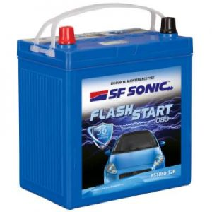 SF Sonic Flash Start 85Ah FS1080-105D31R Car Battery