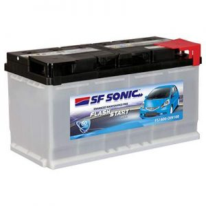 SF Sonic Flash Start FS1800-DIN100 Car Battery