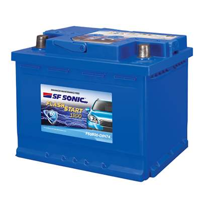 SF Sonic Flash Start FS1800-DIN74 Car Battery