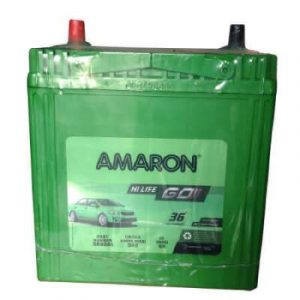 Car Battery Amaron GO 38B20R 35Ah