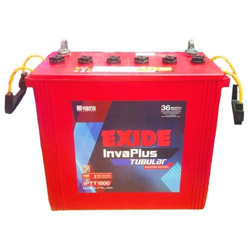 Exide Battery Invaplus IPTT1500 150AH Tall Tubular