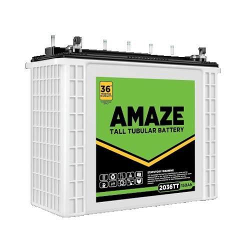Amaze 2036TT 150AH Tall Tubular Battery