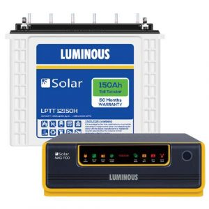 Luminous NXG 1100 with 150AH In-Built Solar