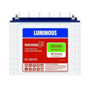 Luminous Batteries