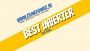 best inverter for home in chennai