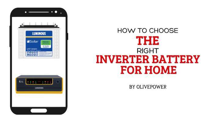 how to choose the right inverter battery for home