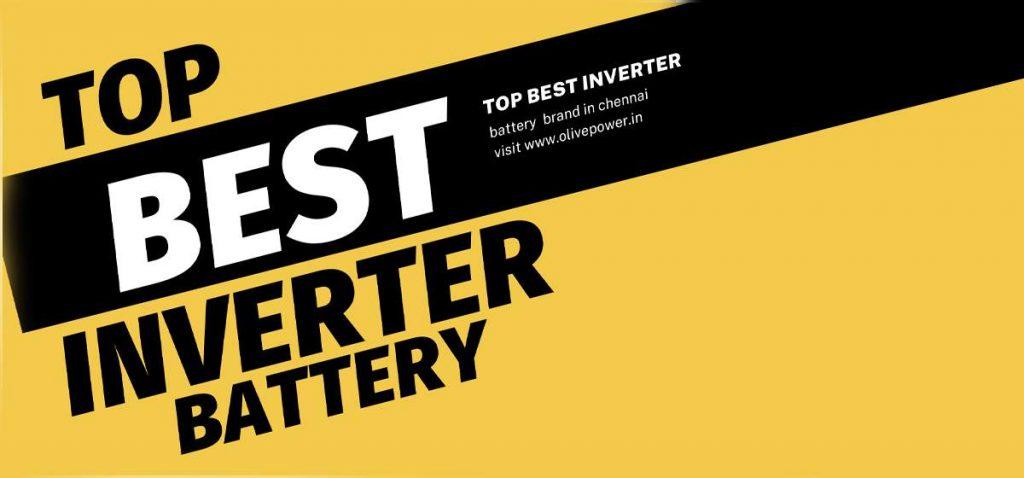 Top best inverter battery brands