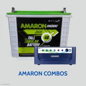 Amaron inverter battery combos