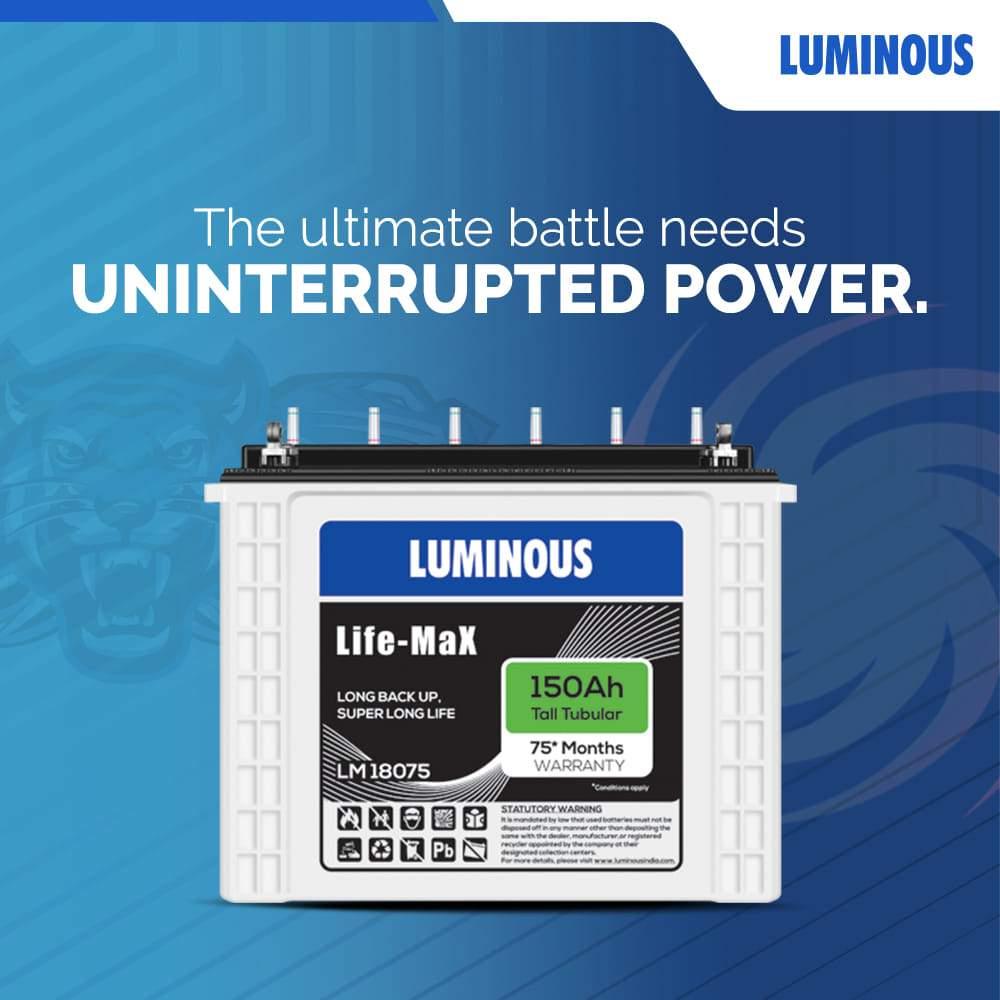 Luminous life-max 18075