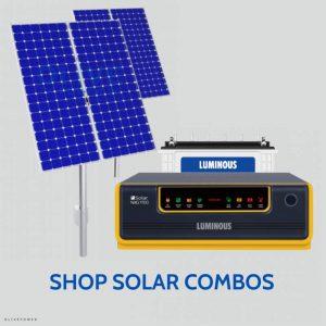 Solar inverter battery online