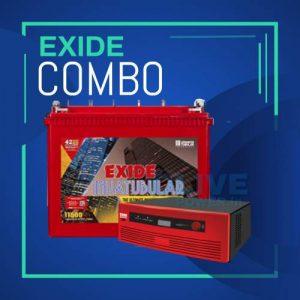 exide battery price